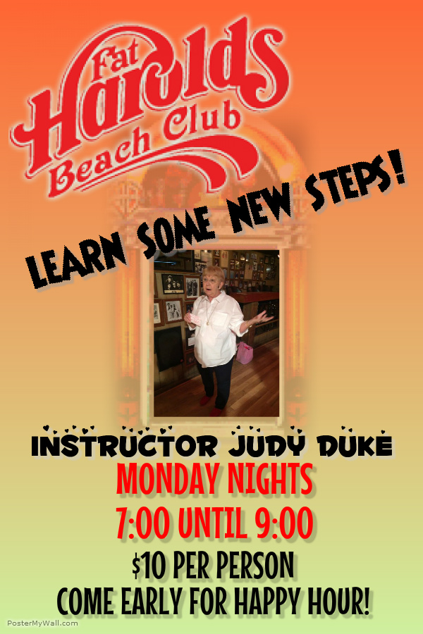 Shag Lessons with Judy Duke