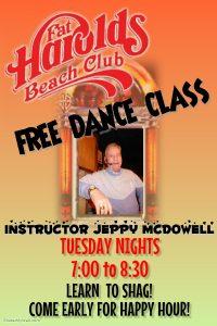 JEPPY DANCE CLASS POSTER
