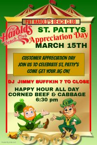 st patty appreciation day