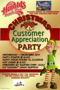 christmas party customer app 2018