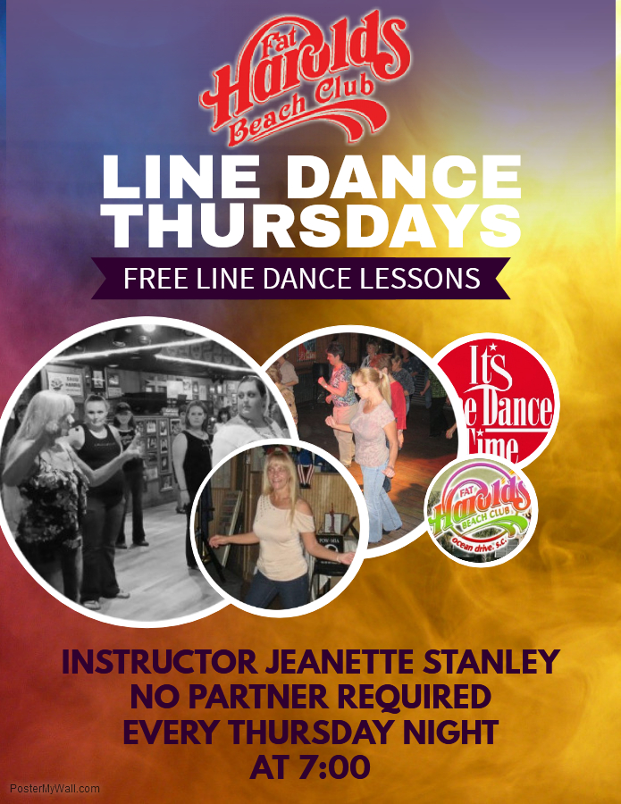 GET A WORKOUT WITH FREE LINE DANCE LESSONS