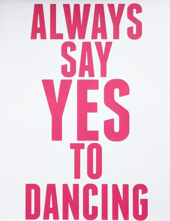 say yes to dance