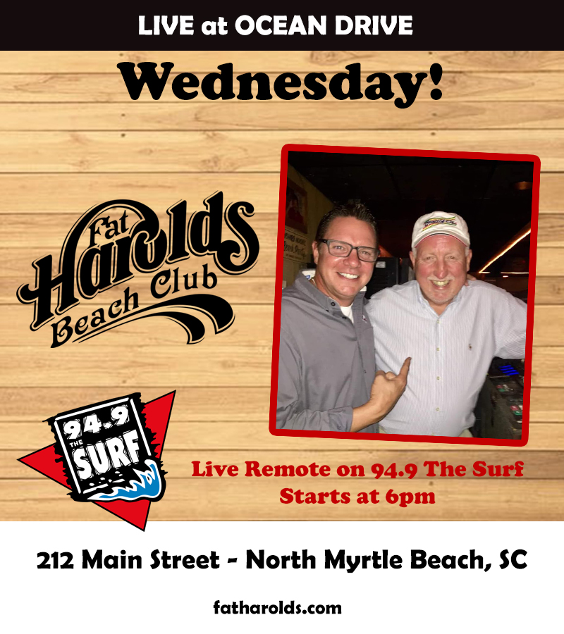 Fat Harolds LIVE Remote on The Surf