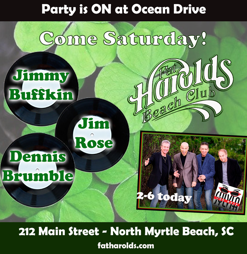 Green Saturday at Harolds!