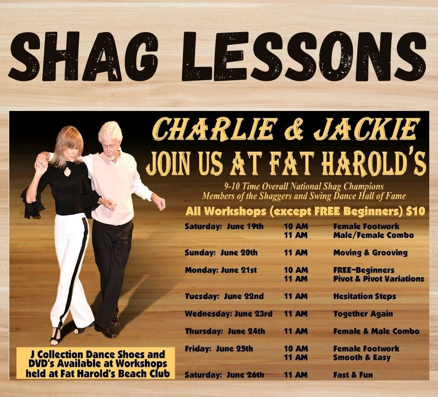 shag lesson charlie and jackie