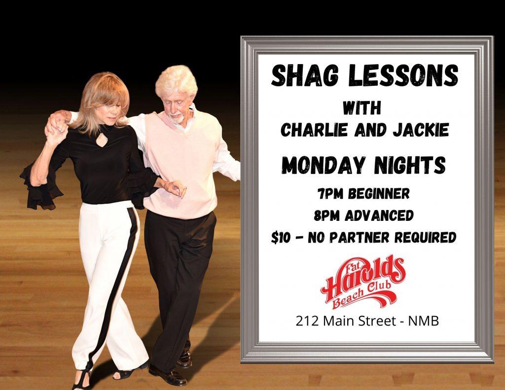 monday shag lessons