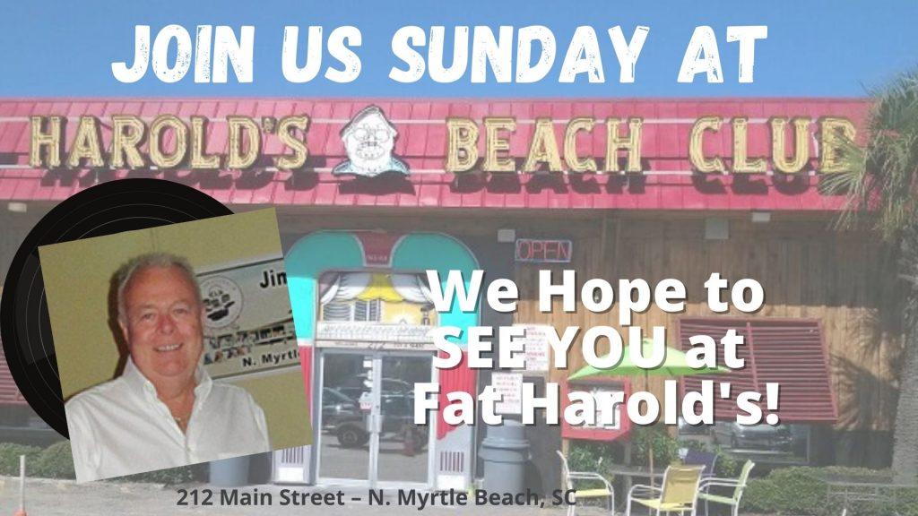Sunday at harolds