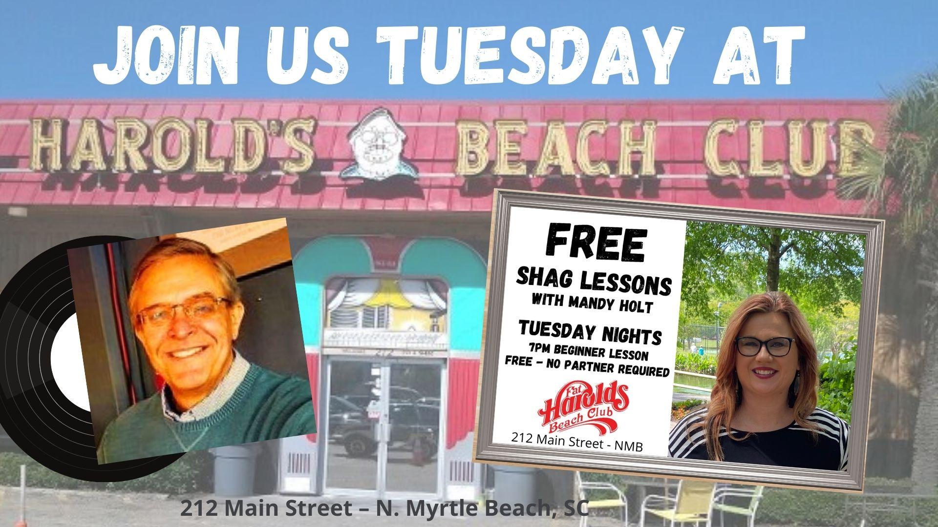 Free Shag Lessons on Tuesday