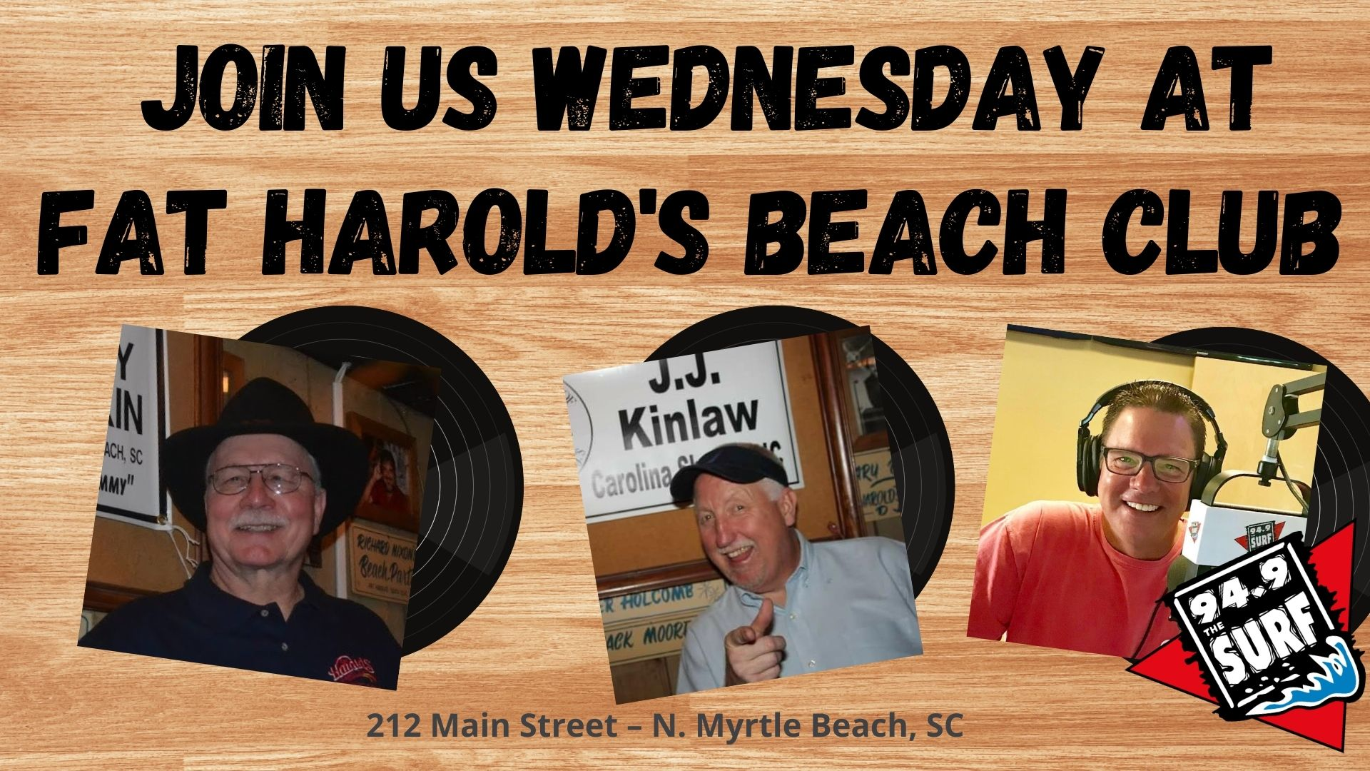 Wednesday at Fat Harold's