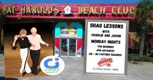 shag lessons monday
